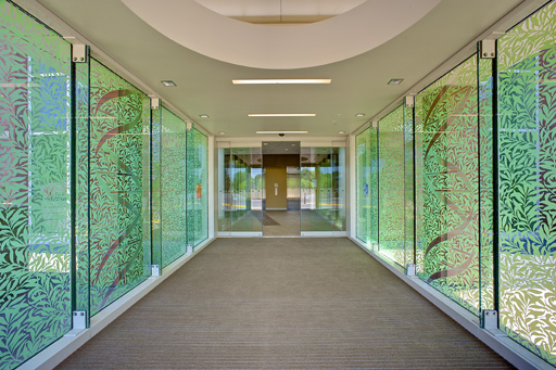 Paolo Alto Medical Center, Sunnyvale California, Alice Digital Ceramic Glass Printing
